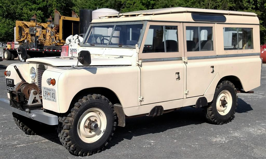 1966 Land Rover Series II A 109 - $17000