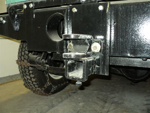 2 Inch Receiver And The Pintle Hitch
