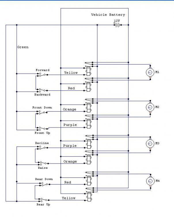Wiring Schematic For Seat Ecu